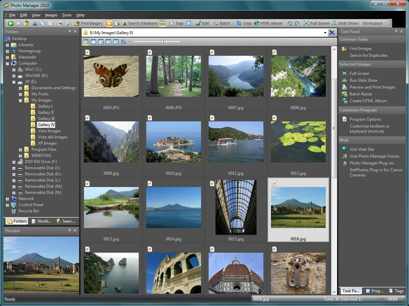 Windows 7 Photo Manager Pro 4.0 full